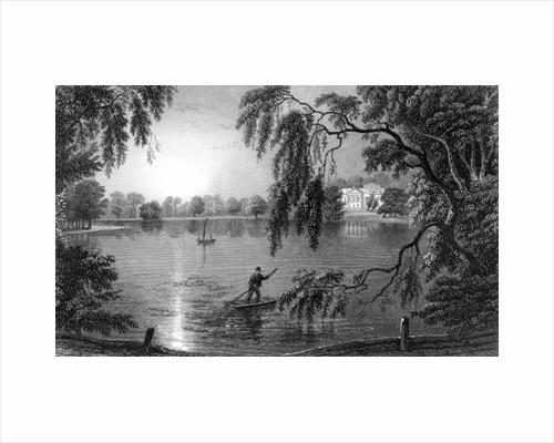 Gosfield Hall by William Henry Bartlett