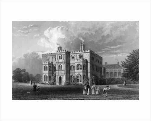 Marks Hall, Coggeshall, Essex by William Henry Bartlett