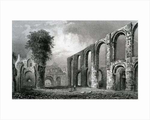 St. Botolph's Priory Church, Colchester, Essex by William Henry Bartlett