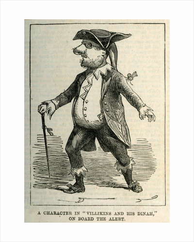 A Character in 'Villikins and his Dinah', on board The Alert by English School