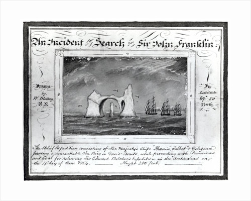 An Incident in the Search for Sir John Franklin, June 4 1854 by W. Blakey