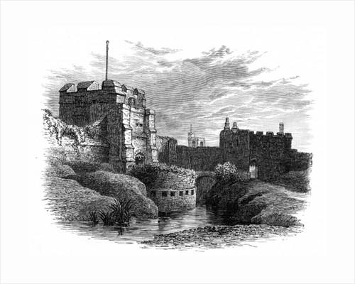 Carlisle Castle by English School