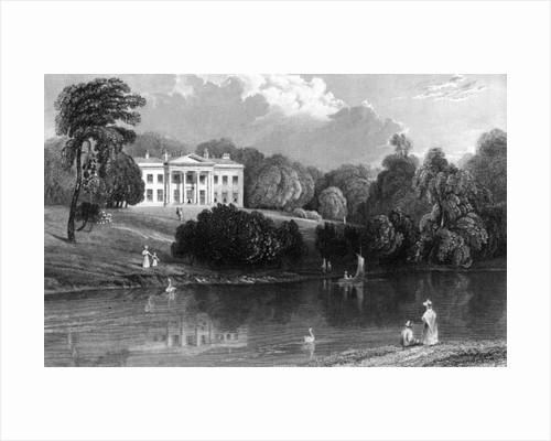 Debden Hall, Essex by William Henry Bartlett