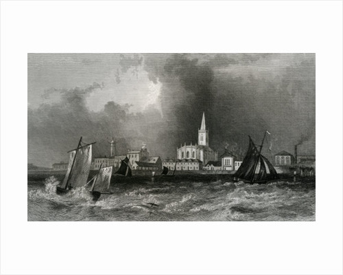 Harwich by engraved by John Rogers