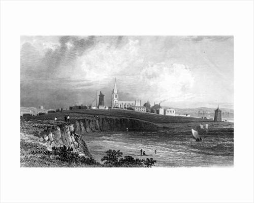 Harwich, Essex by William Henry Bartlett