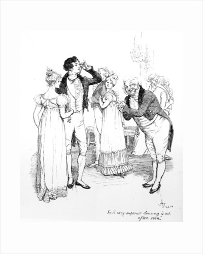 'Such very superior dancing is not often seen' by Hugh Thomson