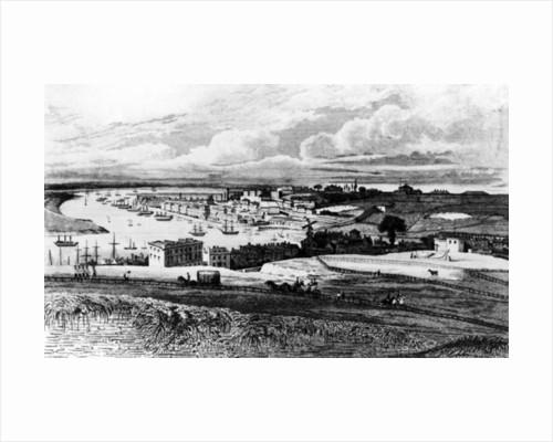 Chatham Dockyard from Port Pitt by George Sidney Shepherd
