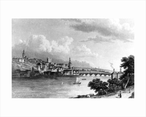 Newcastle from Askew's Wood by William Westall