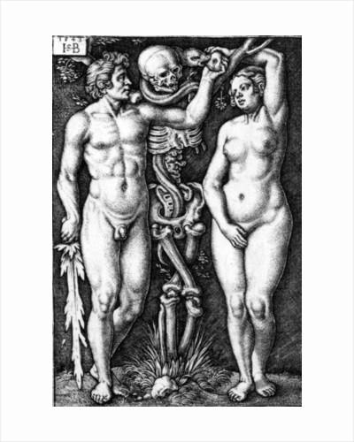 Adam and Eve by Barthel Beham