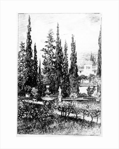 The Landscape Garden by Robert Swain Gifford