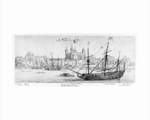 The Tower of London by Wenceslaus Hollar