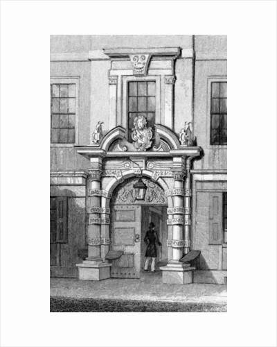 Haberdasher's Hall, Maiden Lane by Thomas Hosmer Shepherd