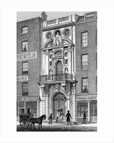 Mercers' Hall, Cheapside by Thomas Hosmer Shepherd