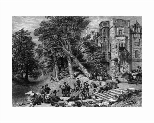 Destruction of the Property of Royalists by George Cattermole