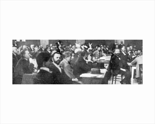 Group of Delegates at the Zionist Congress, Basle by Swiss Photographer