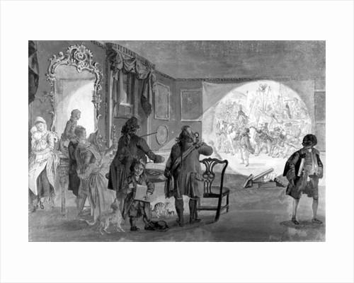 The Magic Lantern, 1730-1809 by Paul Sandby