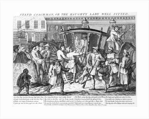 Stand Coachman or the Haughty Lady Well Fitted by English School
