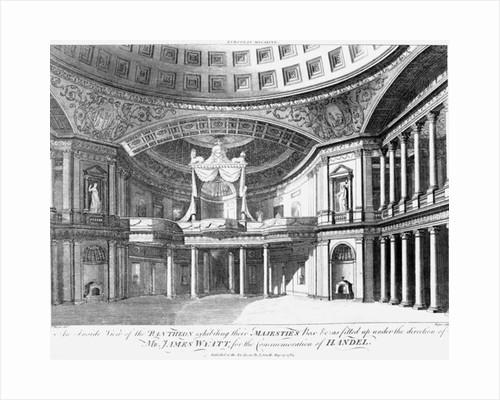 An inside view of the Pantheon, Oxford Street, London by John Dixon