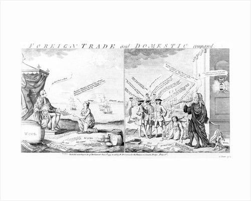 Foreign Trade and Domestic Compared, by William Herbert by English School