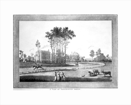 A View of Paddington Green, after Jeffry's Hamett O'Neale by Haynes King