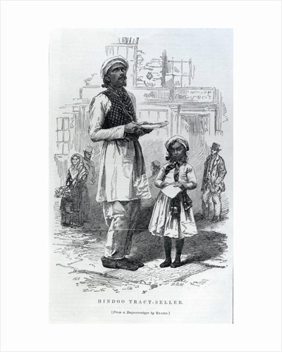 Hindoo Tract-Seller by English School