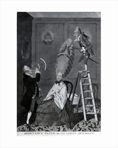Ridiculous Taste, or The Ladies Absurdity by Matthew or Matthias Darly
