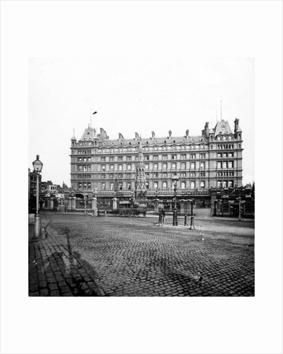 Charing Cross Station Hotel by English Photographer