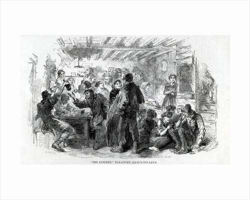 The Kitchen, Fox-Court Gray's Inn Lane by English School