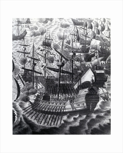 The Spanish Armada by Anonymous