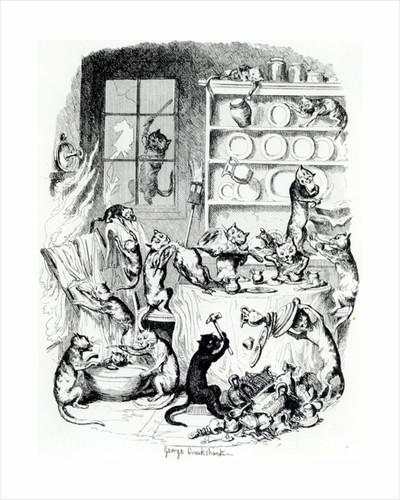 Print/Book Illustration by George Cruikshank