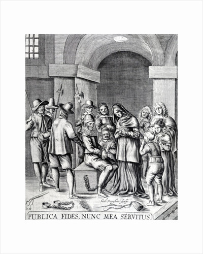 Sir William Dick of Braid in prison by Anonymous