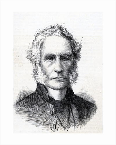 The right Reverend Alfred Ollivant Illustration from 'The Graphic' by English School