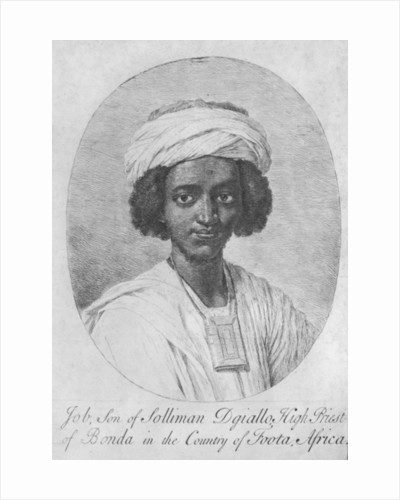 Job, Son of Solliman Dgiallo, High Priest of Bonda in the Country of Foota, Africa by English School