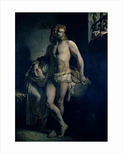 A Gaul and his Daughter Imprisoned in Rome by Felix-Joseph Barrias