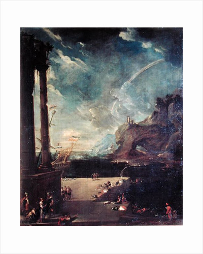 The Departure of Aeneas from Carthage by Benito-Manuel de Aguero