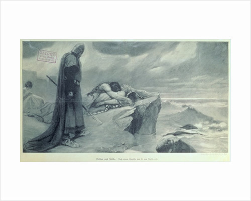 Scenery from the opera 'Tristan and Isolda' by Richard Wagner by German School