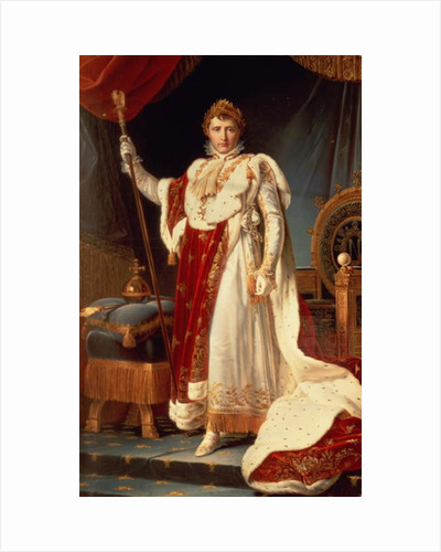 Napoleon in Coronation Robes by Francois Gerard