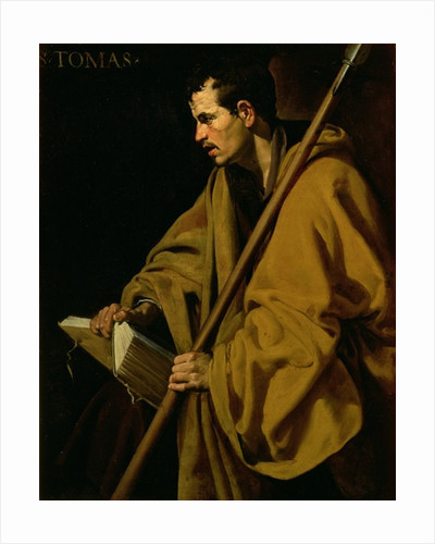 The Apostle St. Thomas by Diego Rodriguez de Silva y Velazquez