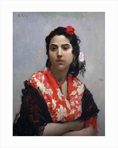 Gypsy Woman by Raimundo de Madrazo y Garetta