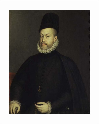 Philip II of Spain by Sofonisba Anguissola