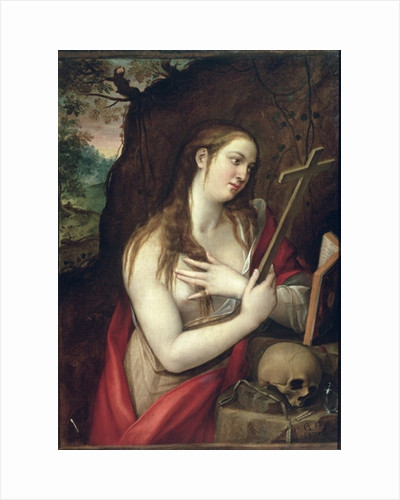 The Penitent Magdalene by Luis de Carbajal