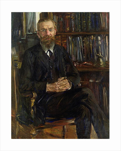 Portrait of Dr Edward Meyer by Lovis Corinth