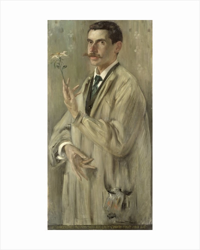 The Painter Otto Eckmann by Lovis Corinth