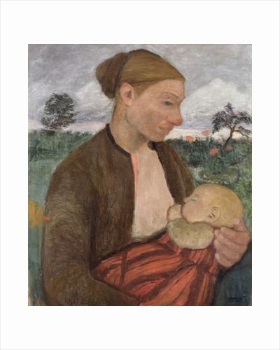 Mother and Child by Paula Modersohn-Becker