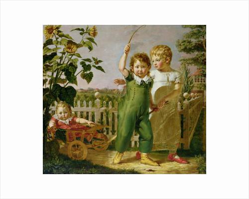 The Hulsenbeck Children by Philipp Otto Runge