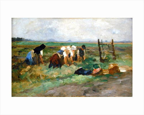 Field Workers by Thomas Ludwig Herbst