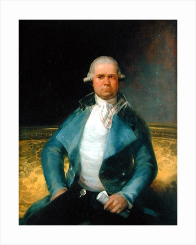 Portrait of Don Tomas Perez Estala by Francisco Jose de Goya y Lucientes