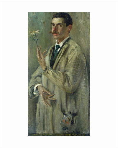 Portrait of Otto Eckmann by Lovis Corinth