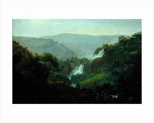 Waterfall near Tivoli by Johann Martin von Rohden