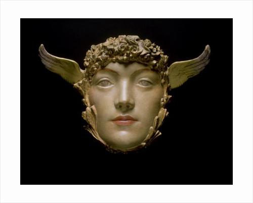 A Mask by Fernand Khnopff
